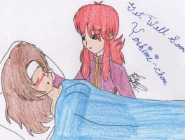 Get Well Yoshimi-chan by HieiBabyGirl