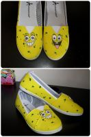 Spongebob Shoes! by maja135able
