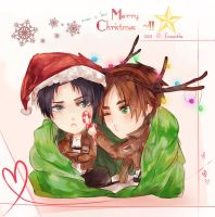 SnK: Jingle Bells, Heichou Smells!! by Fiveonthe