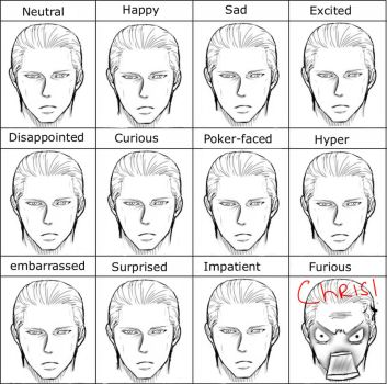 The MANY faces of Wesker by ArubatoWesuka