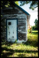 Another of the old building behind my house by freyaka