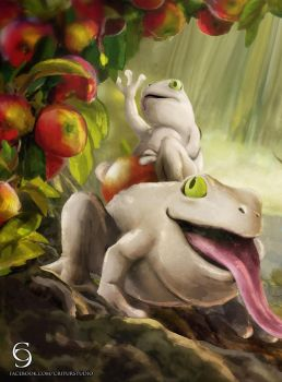 CM: Toadally Awesome by andytantowibelzark