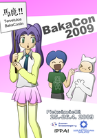 BakaCon 2009 poster by Barnacle84