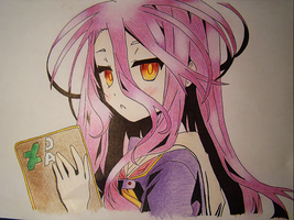 No Game No Life - Shiro by hachikuichi
