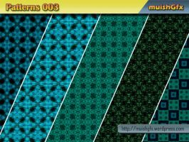 Photoshop Pattern 003 by muish