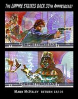 ESB 30th Ann. Return Cards 2 by markmchaley