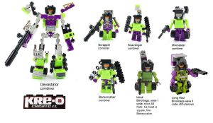 KRE-O Micro Changers Constructicons by Tim1995