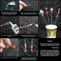 Hat Pin Tutorial by Timestitcher