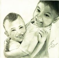 Brotherly Love (Final Scan) by marikit
