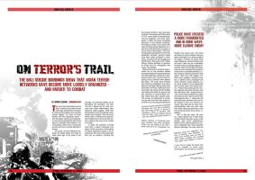 magazine layout by pentipentipen