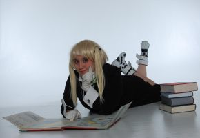 Soul Eater- Bookworm by SkylitEyed