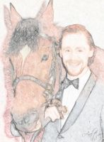 Hiddles and Joey by Aeltari