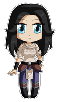 [Commission] Chibi Lady Yuria by izka197