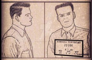 Charles R Starkweather death row mugshot, 1958 by SpaniardWithKnives