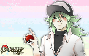 Pokemon Black and White_ N by Project-Nicole