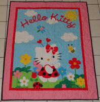 Hello Kitty Lap Quilt by quiltoni