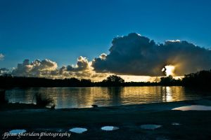 Sunset on Forster by DEAN1S