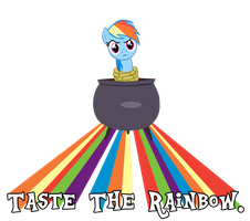 Taste the Rainbow Dash! by Camsy34