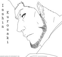 Another Isshin Lineart by synyster-gates-A7X