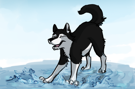 Sequana in water by Selsea012