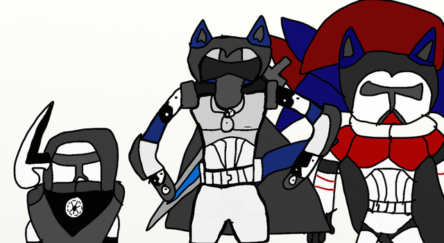 For the Republic! by Wolf-The-Absol