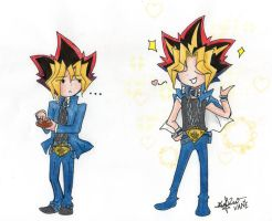 Yami the king of the beauty XD by naruvane-san