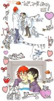 Offbeat - Valentine tigers by five-pm