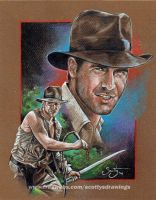 Indiana Jones (2014) by scotty309