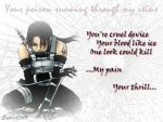 My Pain, Your Thrill -Itachi- by Explicit13