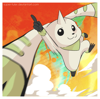 Terriermon by super-tuler
