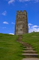 Glastonbury Tor 05 by LadyxBoleyn