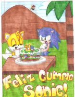 Feliz Cumple Sonic by Ryuzaki236