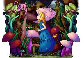 alice in wonderland by QTpie4753