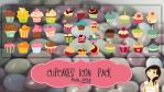 Cupcakes icons by kamysweet