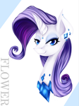Rarity by CaramelFlower
