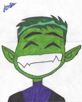Beastboy by Fighter3