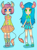 Kemonomimis adoptables [OPEN] by DivaWho
