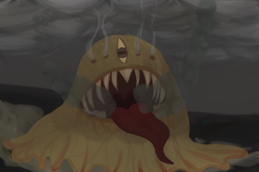 Blob Monster Thing by Mistest