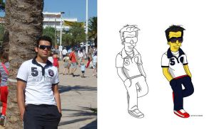 Me simpsons2 by SimpsonsCameos by carlosp