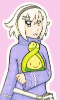 Sumire and Budew