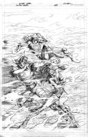 Action Comics 888 CoverPencils by Cinar