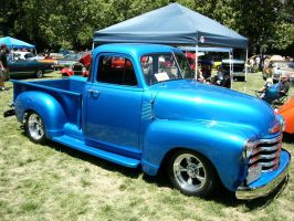 Devil With A Blue Dress On-Chevrolet 3100 Truck by RoadTripDog