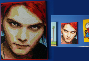 Gerard Way beads by ShampooTeacher