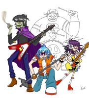 My master piece: Murdoc Update by GND-KicaCris
