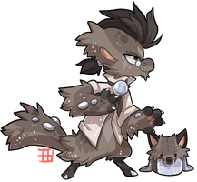 #550 Blessed Mythical BB - Lunar werewolf by griffsnuff