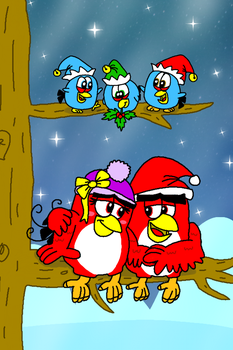 All I Want For Christmas is You by AngryBirdsStuff