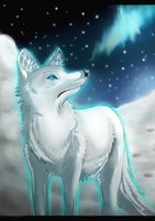 White Wolf by Ink-Leviathan
