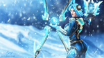 Frostblade Irelia by martaino