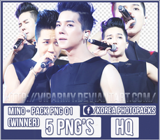 Pack png render: Mino | Winner #01 by VipArmy
