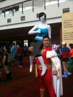 wii fit x Captain marvel by LOUPZ28